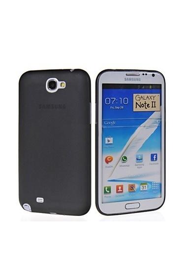 Microsonic 0.2Mm Ultra İnce Kılıf Galaxy Note 2 N7100 Siyah Renkli